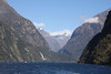 "Milford Sound is a magnificent sheltered fiord, and our overnight trip here is another highlight of the tour. <div id=""caption_tourlink"" align=""right""> [photo © guide Phil Gregory]</div>"