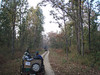 Taking a jeep ride for some birding and tiger-seeking in Kanha National Park (Photo by participant Marshall Dahl)