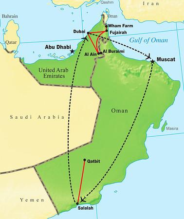 Oman & the UAE 2011