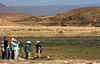 """Some of the gang at Khawr Rawri in southern Oman <div id=""""caption_tourlink"""" align=""""right""""> [photo © guide George Armistead]</div>"""