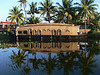 "Basket boat at Coconut Lagoon. <div id=""caption_tourlink"" align=""right""> [photo © participant Marge Barrett]</div>"