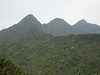 """Tam Dao National Park: On a good day, you can see all three peaks. <div id=""""caption_tourlink"""" align=""""right""""> [photo © guide Uthai Treesucon] </div>"""