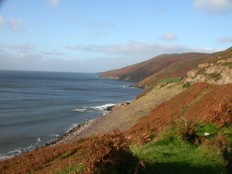 "The Irish Coast. <div id=""caption_tourlink"" align=""right"">[photo © guide Terry McEneaney]</div>"