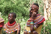 "Samburu Boran dancers, Serena Lodge <div id=""caption_tourlink"" align=""right""> [photo © guide Richard Webster]</div>"