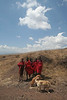 "Masai youth below Ngorongoro <div id=""caption_tourlink"" align=""right""> [photo © guide Richard Webster]</div>"