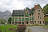 "Hotel Vignemale in Cirque de Gavarnie <div id=""caption_tourlink"" align=""right"">[photo © participant Paul Thomas]"