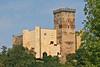 """Castle at Mauvezin <div id=""""caption_tourlink"""" align=""""right"""">[photo © participant Paul Thomas]</div>"""