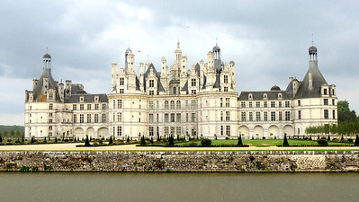 Chambord, largest of the Loire's chateaux, has 440 rooms! Photo by Megan Edwards Crewe.