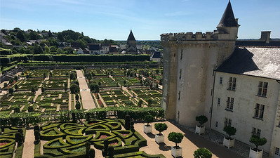 Villandry, a Renaissance chateau, is one of our stops. Photo by Megan Edwards Crewe.