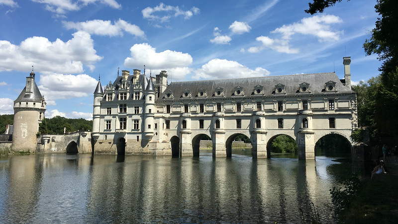 Chenonceau is among the most graceful chateaux. Photo by Megan Edwards Crewe.