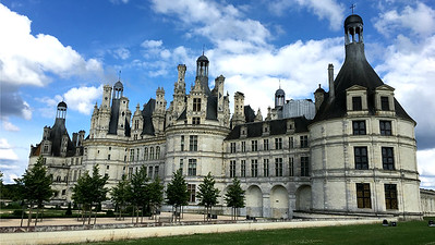Another view of magnificent Chambord, by Megan Edwards Crewe.