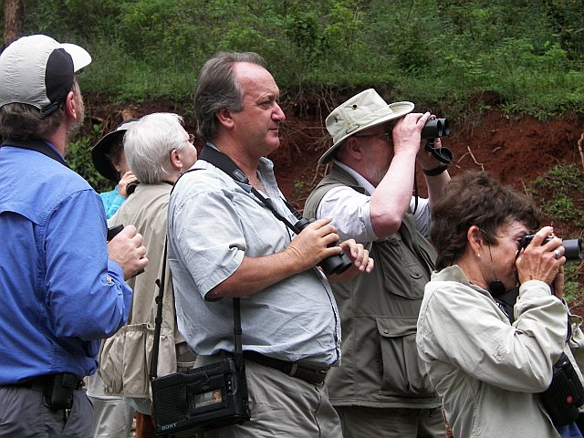 "Terry Stevenson & group <div id=""caption_tourlink"" align=""right"">[photo © participants Eileen Keelan & Brian Keelan] </div>"