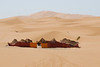 """Part of the fun of Morocco is learning about and seeing the culture. This is a Berber camp at Erg Chebbi. <div id=""""caption_tourlink"""" align=""""right"""">[photo © participant Daphne Gemmill]</div>"""