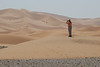 """We end with another iconic image, of birding the sandunes at Erg Chebbi. <div id=""""caption_tourlink"""" align=""""right"""">[photo © participant Daphne Gemmill]</div>"""