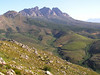 "A vista near Ceres -- much of South Africa is mountainous, and the elevation further increases the number of specialty species found here.  <div id=""caption_tourlink"" align=""right""> [photo © participant Joe Goodner]</div>"