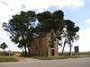 A little bit a history along the roadside near Mota del Cuervo.