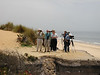 "Birding the coast in Donana. <div id=""caption_tourlink"" align=""right""> [photo by Chris Benesh]</div>"