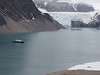 Plancius and 14th of July Glacier in Krossfjorden (Photo by guide John Coons)