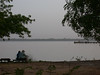 """Enjoying the Gambia River. <div id=""""caption_tourlink"""" align=""""right""""> [photo © Mike Crewe]</div>"""