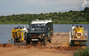 The Paraa Ferry at Murchison Falls National Park  (Photo by guide Phil Gregory)