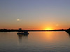 "Sundowner Cruise on Zambesi River <div id=""caption_tourlink"" align=""right""> [photo © participant Marge Barrett]</div>"