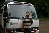 A careful driver and a comfortable bus?  Priceless.  Luis kept us safe and happy for our two-week adventure. (Photo by guide Megan Crewe)