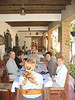 """The group having lunch in Zambrano.  Man, I still remember that bread pudding. <div id=""""caption_tourlink"""" align=""""right""""> [photo © participant Teresa Santos]</div>"""