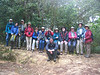 """Our 2009 group (Team Emerald) at La Tigra National Park.  <div id=""""caption_tourlink"""" align=""""right""""> [photo © participant Teresa Santos]</div>"""