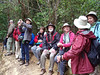 """Team Emerald enjoys the cool mountain temps, this time from the west-side Jutiapa entrance. <div id=""""caption_tourlink"""" align=""""right""""> [photo © participant Max Rodel]</div>"""