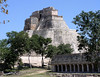 Uxmal is a favored stop for fabulous archaeological ruins along our route -- and the birding is great right on site as well! (Photo by guide John Coons)