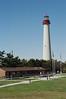 "The Cape May Lighthouse <div id=""caption_tourlink"" align=""right"">[photo © participants Bob Stavert & Jane Stavert]</div>"