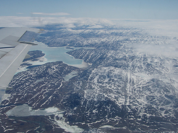 "Baffin Island from the air -- an amazing view<div id=""caption_tourlink"" align=""right""> [photo © participant Marshall Dahl]</div>"