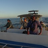 Guide Doug Gochfeld with part of the group on the pelagic. Photo by guide Dan Lane.