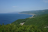 "A commanding view of Pleasant Bay and the Cape Breton Highlands National Park. <div id=""caption_tourlink"" align=""right""><br>[photo © Chris Benesh]</div>"