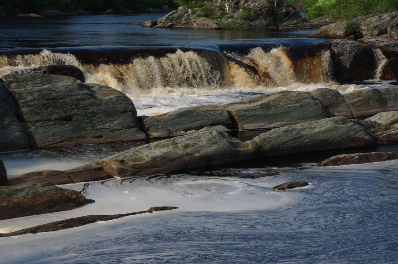 "Falls near Liscombe Mills, along the Nova Scotia shore<div id=""caption_tourlink"" align=""right""> [photo © participant Diana Bradshaw]</div>"