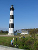 "Bodie Island lighthouse <div id=""caption_tourlink"" align=""right""> [photo © participant Marilynne Keyser]</div>"