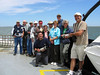 "Our group on the ferry, heading to the outer banks <div id=""caption_tourlink"" align=""right""> [photo © participant Marilynne Keyser]</div>"