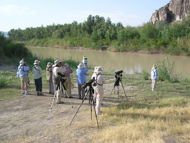 "Birding Big Bend <div id=""caption_tourlink"" align=""right""> [photo © participants Bill & Nancy Denton]</div>"