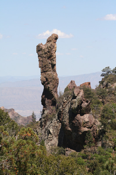"The ""boot"" of the Boot Springs hike <div id=""caption_tourlink"" align=""right""> [photo © guide Chris Benesh]</div>"
