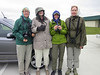 IT WAS COLD!  Which was a good thing (for us birders)... the north winds caused many nice migrants to drop into High Island's woods for us to admire.  ~LS