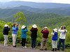 "Group at Paddy's Knob <div id=""caption_tourlink"" align=""right"">[photo © guide John Rowlett]</div>"