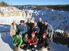 Group at the Grand Canyon of the Yellowstone, by guide Terry McEneaney
