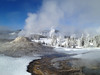 Steam landscape in Yellowstone NP, by guide Terry McEneaney