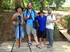 Guide Jesse Fagan makes friends wherever he goes -- always! Photo from our Colombia: Llanos & More tour by local guide Andres Trujillo.