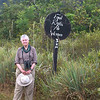 Most unexpected sign: Participant Daphne Gemmill and one of our recent Guyana groups made this discovery. Who knew?