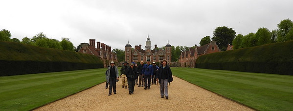 Megan Edwards Crewe and Willy Perez led a very merry bunch through the Birds of Britain tour this spring. Here is the group leaving Blickling Hall near Cley after enjoying a Barn Owl bringing food to the young. Photo by guide Willy Perez.