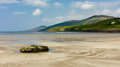 The Dingle Peninsula features some amazing shoreline beauty. This is Inch Strand, by participant Sheran Clark.