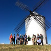 Our group had to pause in La Mancha for a group photo, if not some actual tilting at windmills. Photo by participant Chuck Holliday.