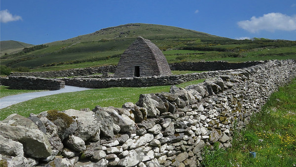 The Gallarus Oratory on the Dingle Peninsula, its origin debated, is one of the cultural sites we visit on this unusual tour. Photo by participant George Nixon.