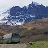 Drifting farther south and higher in South America, this next batch of images comes from our Chile tour. Participant Charlotte Byers shared this stunning landscape shot with our bus in the foreground. Don't worry, we didn't leave her behind.